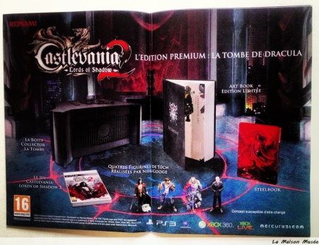 Contenu Collector Castlevania 2 Lords of Shadow