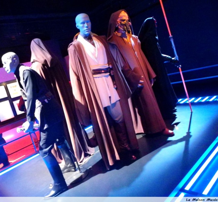 Costume Jedi Star Wars Exposition