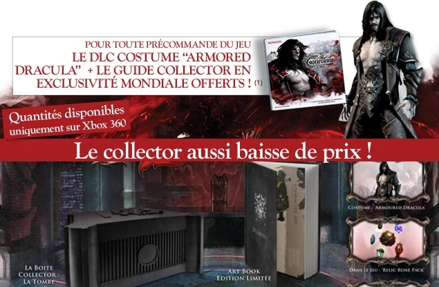 Disponibilite Edition Collector Castlevania PS3