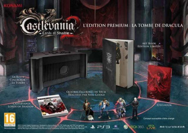 Contenu 99€ Castlevania PS3 Interessant
