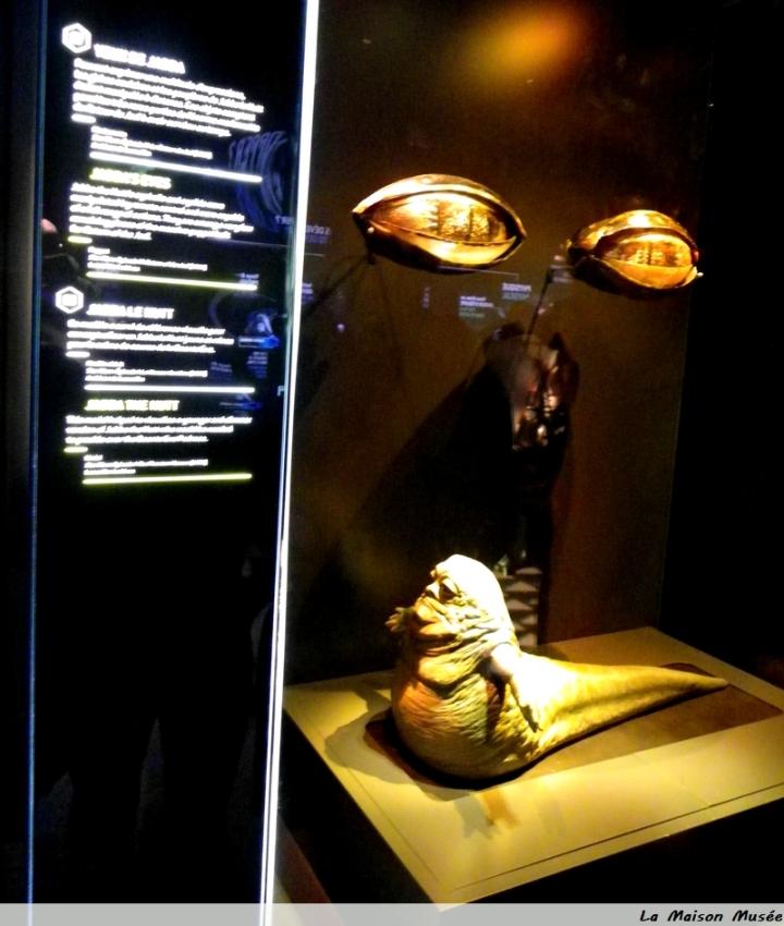 Jabba Hutt Costume Exposition