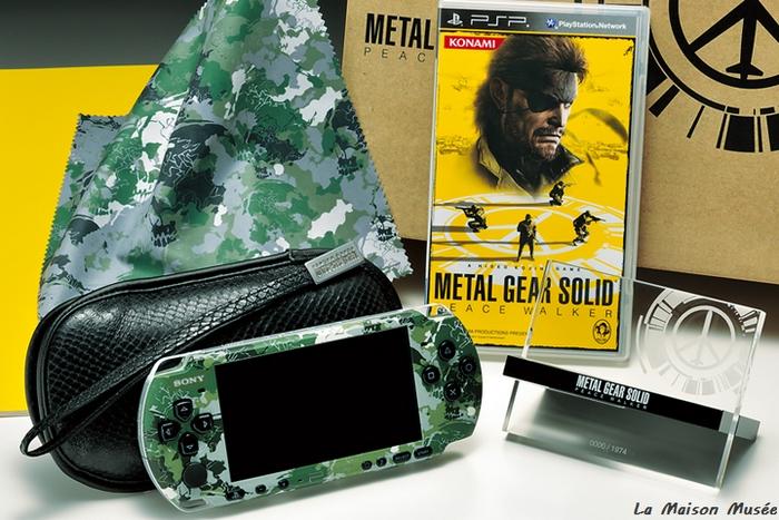 Contenu KonamiStyle Peace Walker Console