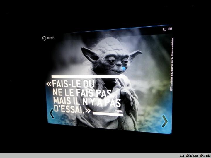 Fiche Yoda Star Wars