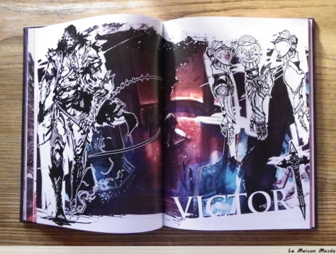 Victor personnage castlevania art