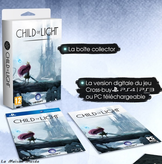 Detail Boite Child of Light Collector