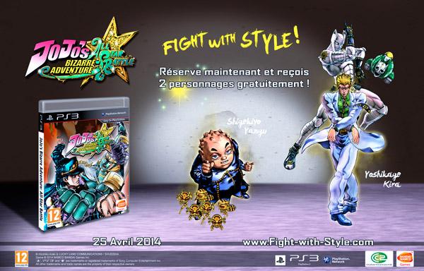 Precommande Jojo PS3 Jeu de Combat