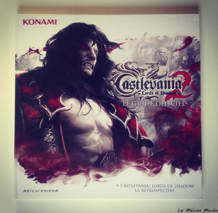 Guide officiel Castlevania Bonus Micromania