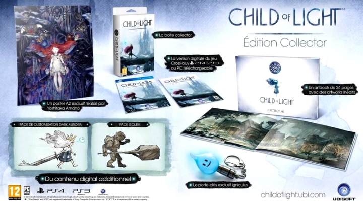 Exclu Edition Speciale Child of light ubisoft