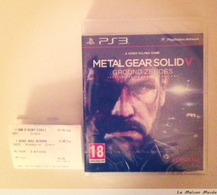 Qualite Metal Gear Solid Ground Zeroes Tuto