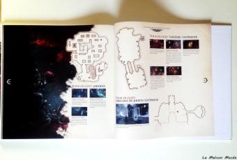 carte emplacement secrets castlevania