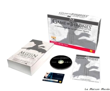 Réservation FNAC Game of Thrones