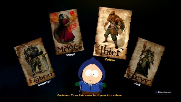 Classes South Park Evolution
