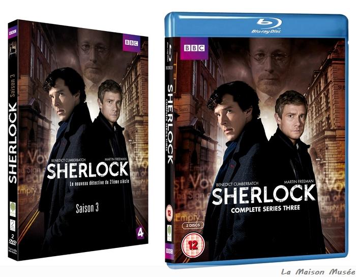 Date DVD Sherlock BBC France