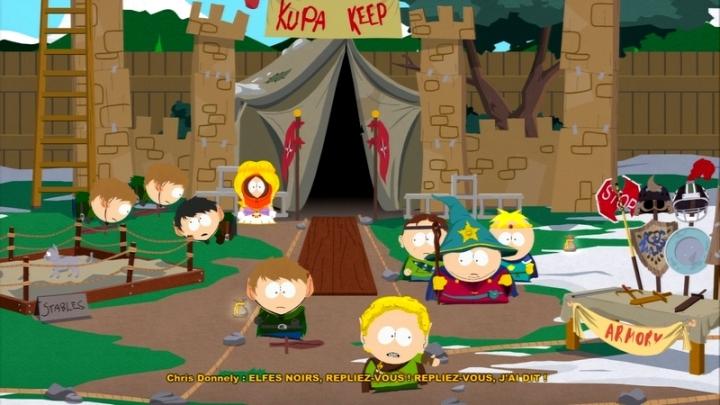 KKK South Park Stick of truth