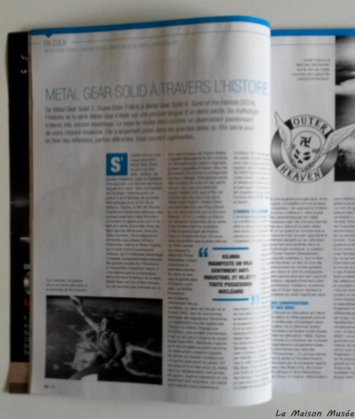 Histoire MGS Magazine