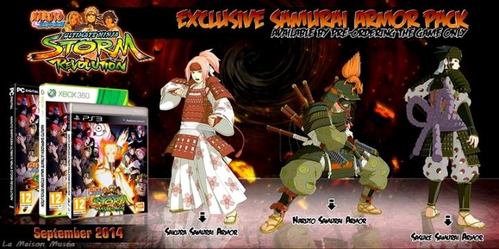 Naruto Precommande Storm Generation