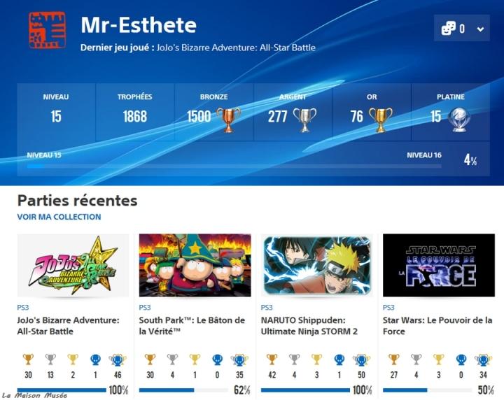 Blog Trophees PS3 Jeux