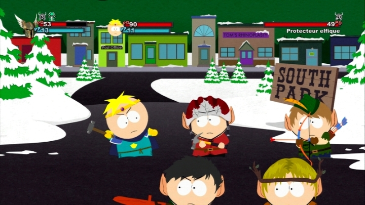 Combien d'amis South Park stick of truth