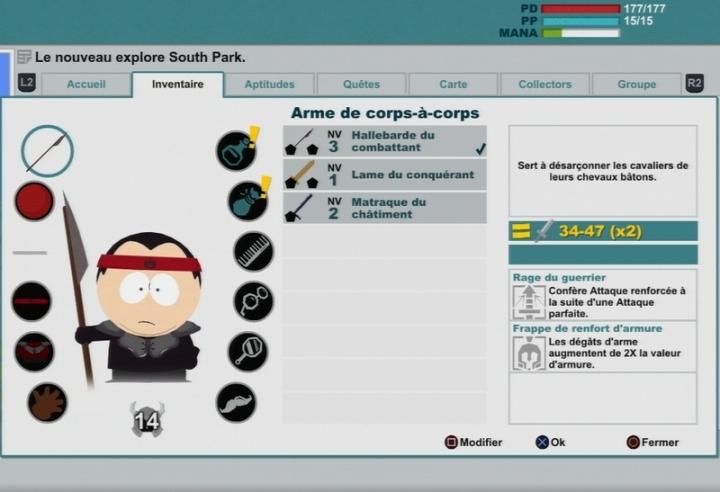 Customisation South Park