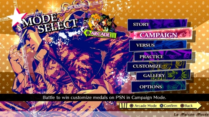 Langue Jojo ASB PS3 CyberConnect