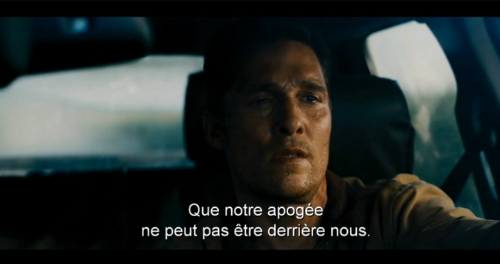 Matthew McConaughey Interstellar Acteur