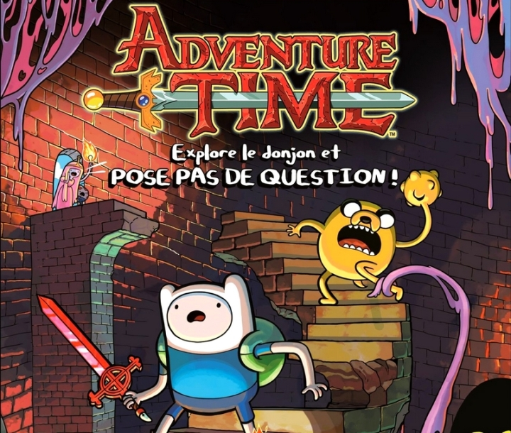 Adventure Time Explore le Donjon et POSE PAS DE QUESTION Test Console