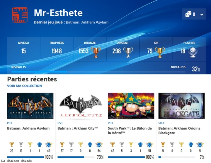 Blog Trophees PlayStation 3