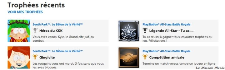 Icone Trophée PlayStation All-Stars Battle