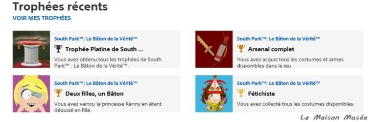 Toutes les armes South Park