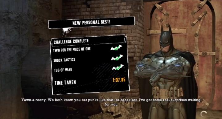 Predateur Defi Batman PS3
