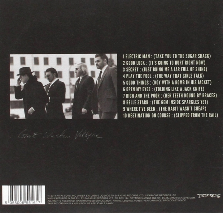 Cover Album Rival Sons
