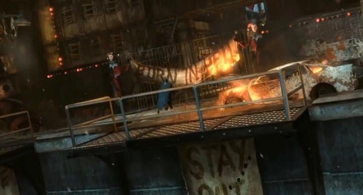 Scenario Harley Quinn Revenge