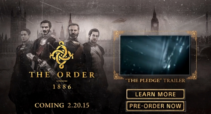The Order 1886 PS4 Arbook