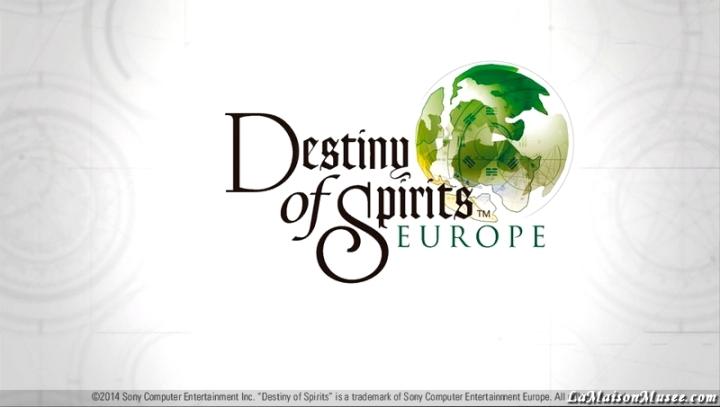 Presentation Destiny of Spirits PlayStation