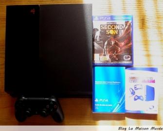 Avis Console PS4 Deballage