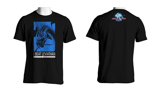 Tee Shirt Leviathan FF14 Rare Collector