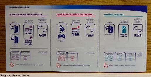 Details Garantie Micromania Console Xbox One PS4