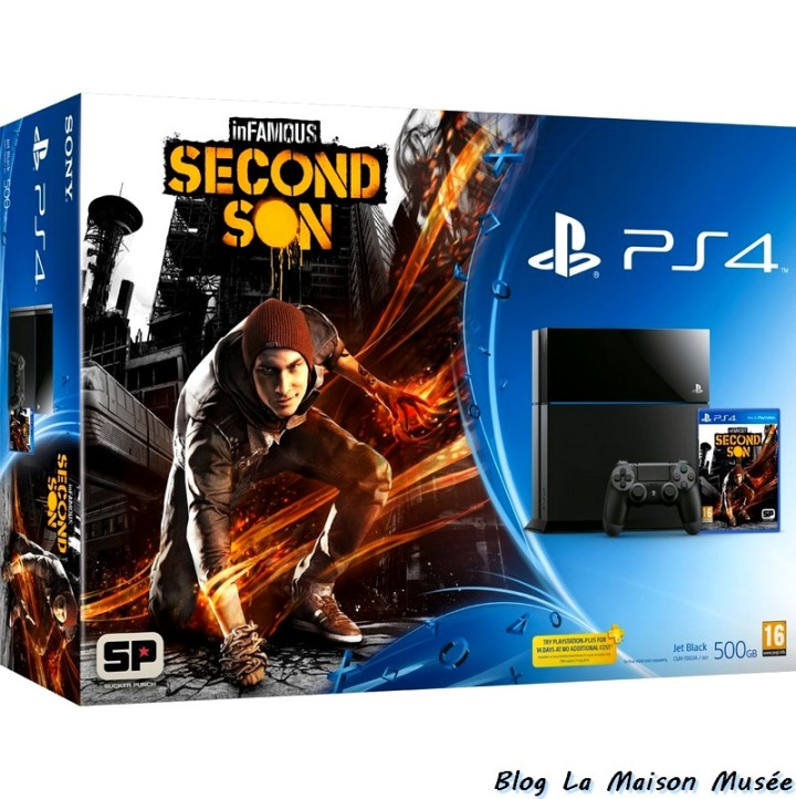 inFamous Second Son Pack Console PS4