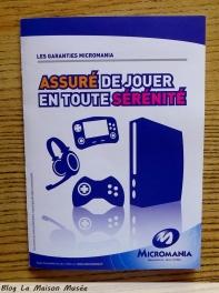 Micromania garantie console