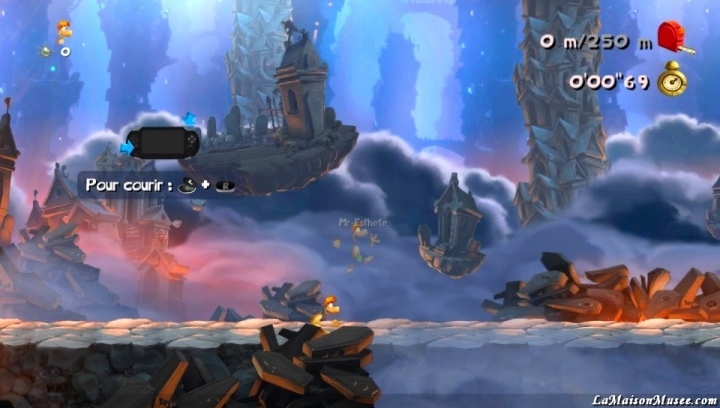 Course chronometré Rayman Legends