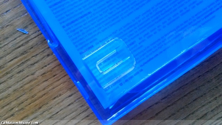 PlayStation 4 Box Blu-Ray
