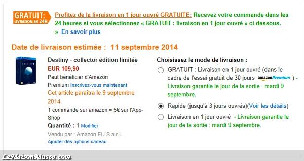 Amazon Collector Destiny