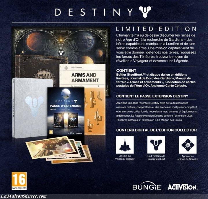 Code Destiny Bungie