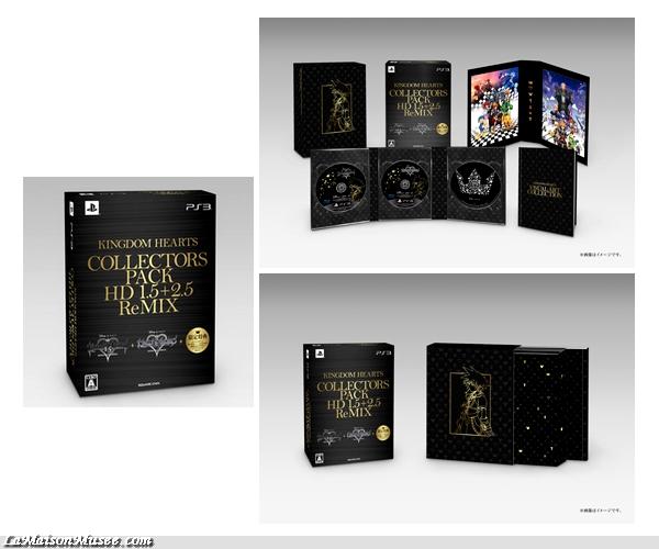 Le Japon aura le droit à une Edition Collector Spécifique.