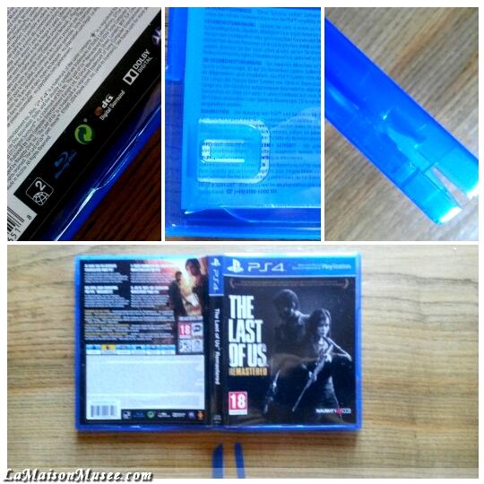 TLOU PS4 Jaquette