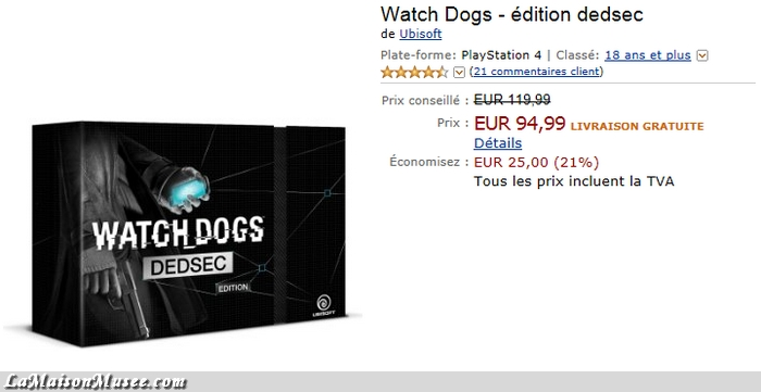 Watch Dogs Avis Deballage