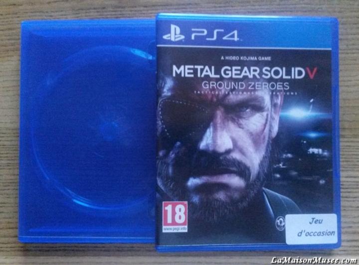 Un boitier Blu-Ray PS4 échangée gracieusement ... Et un nouveau titre PS4, pour le plaisir.