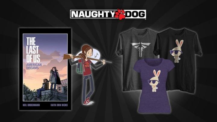 Au final, les véritables produits dérivés Naughty Dog sont assez peu fréquents.