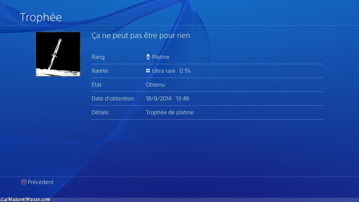 Icon Platine TLOU Remastered
