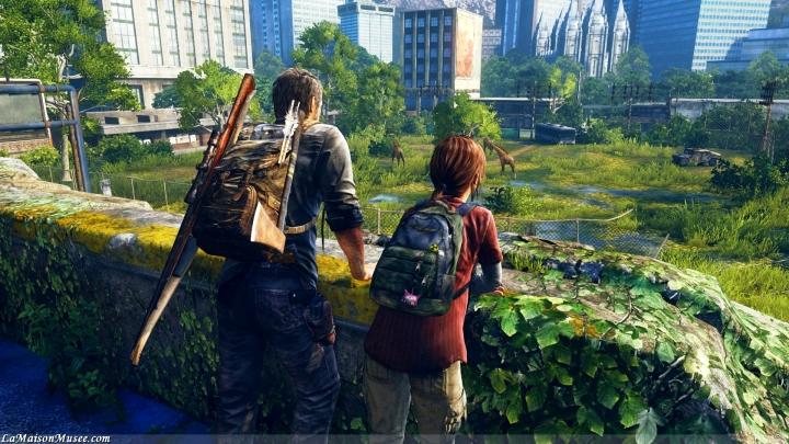 Joel et Ellie PlayStation 4 60 FPS